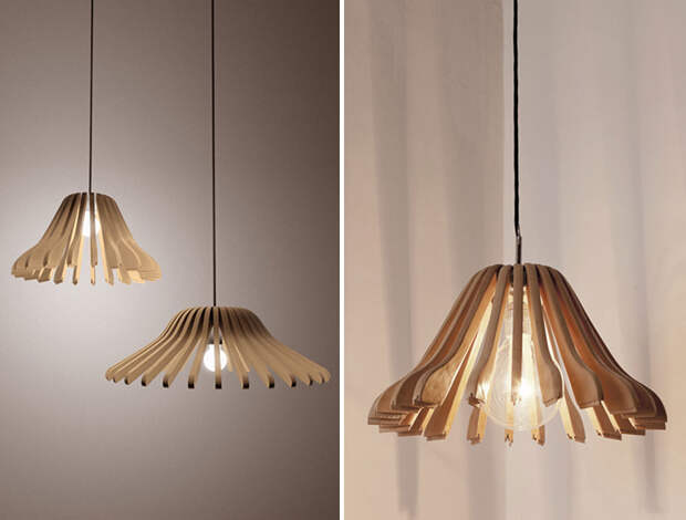 diylamps09 21 идея изготовления светильников и люстр из повседневных предметов