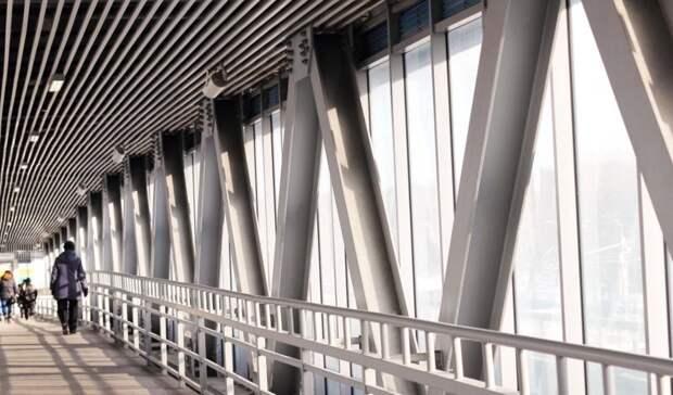 Надземные переходы через МКАД на северо-западе столицы модернизируют