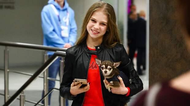 Трусова: «Запретов веде уменя нет, больше всего люблю домашние пельмени»