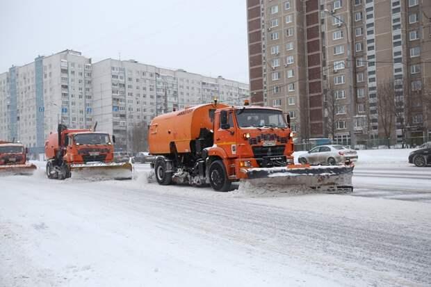 Противогололёдную обработку улиц Северного проведут коммунальщики района
