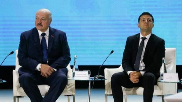 Лукашенко нанёс Зеленскому ответный удар на его санкции против Белоруссии