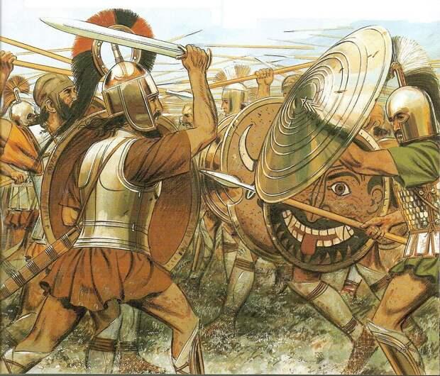 греческие воины - ахейцы