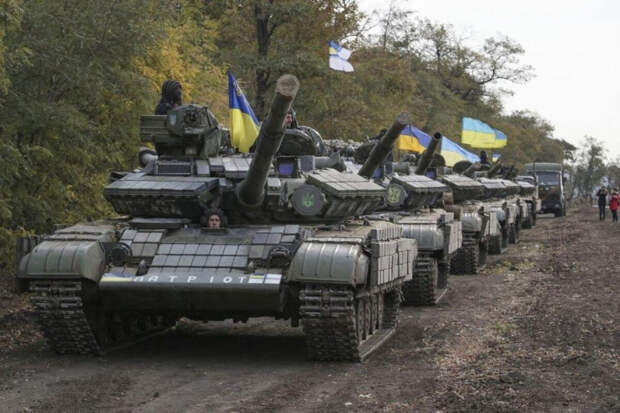 Украина готовится к захвату Донбасса