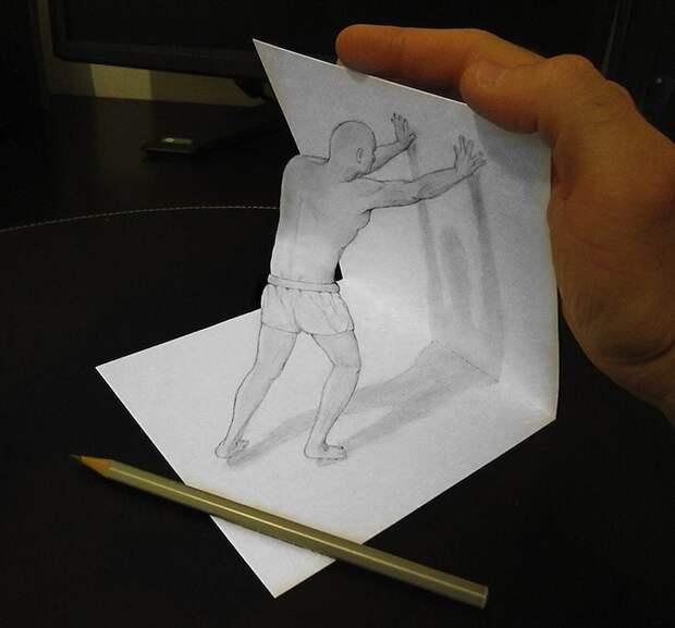 Anamorphdrawings02 Умопомрачительные 3D рисунки