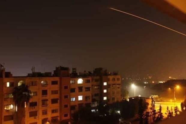 Израиль нанес рекетный удар на юге Дамаска