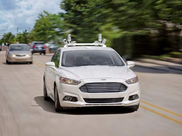 Ford беспилотный автомобиль