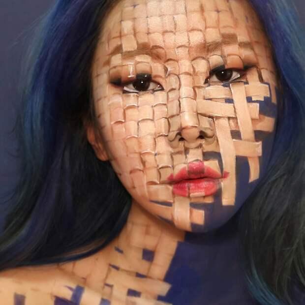 Прекрасные химеры: визажист изКореи взрывает мозг оптическими иллюзиями макияжа