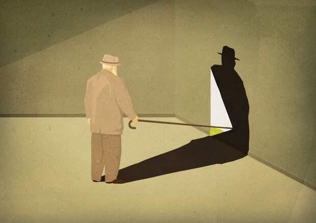 Вызов интеллектуалам: концептуальные минималистические иллюстрации Андреа Учини