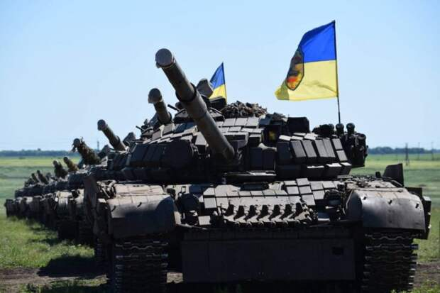 ВСУ перегнали в Донбасс ещё не менее 70 единиц бронетехники