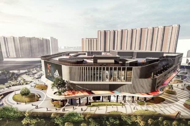 Торговый центр в районе Некрасовка построят к 2023 году