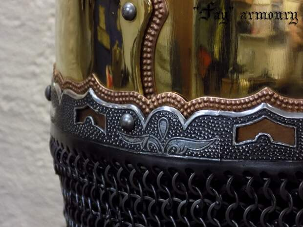 Шлем из кургана Чёрная могила, Чернигов, Х век.