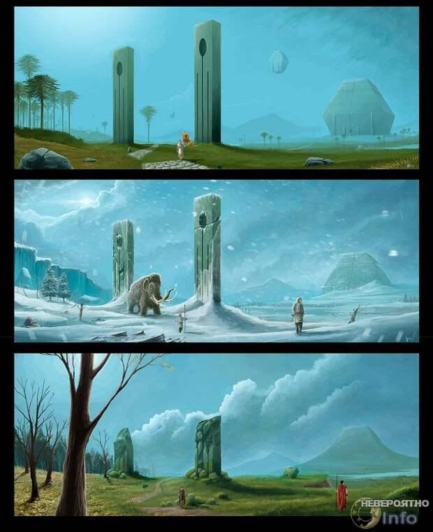 Силурианская гипотеза: развитая цивилизация в далеком прошлом Земли