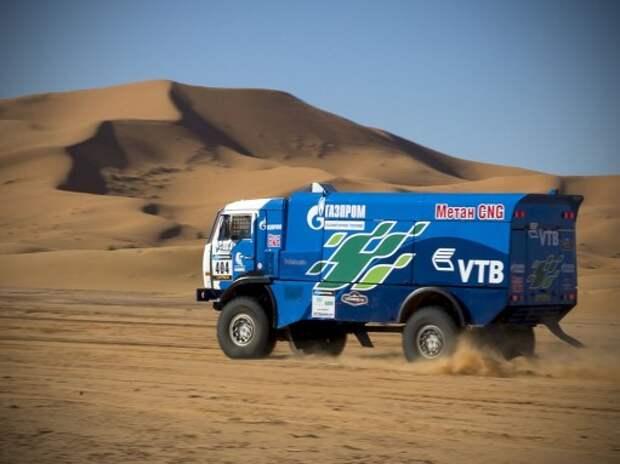 Африка Эко Рейс: гонка в разгаре