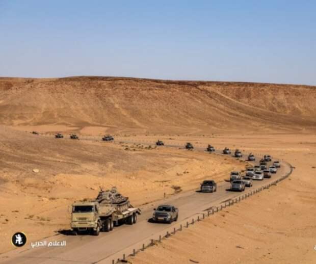 Ливийский фронт: Хафтар взял Аль-Асабу иидёт наГарьян