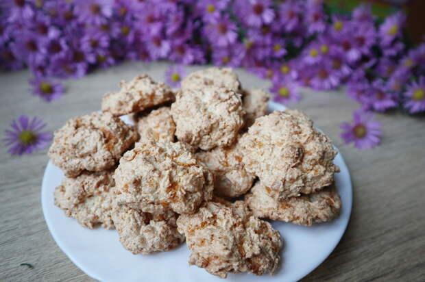 Карамельно-кокосовое печенье
