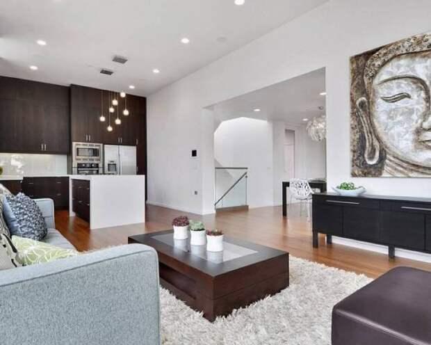 Расстановка мебели по фен-шуй в однокомнатной квартире: фото самых удачных решений (55 фото)