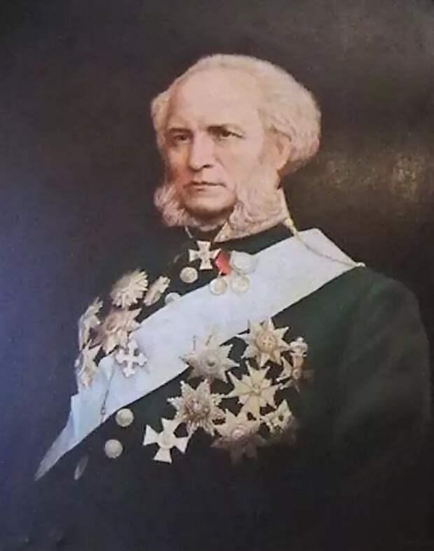 портрет П. П. Семенов-Тян-Шанский