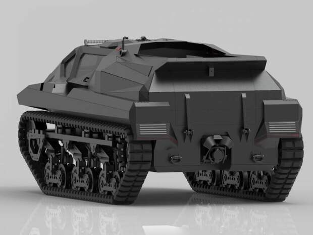 Экспериментальная бронемашина Highland Systems / STREIT Storm