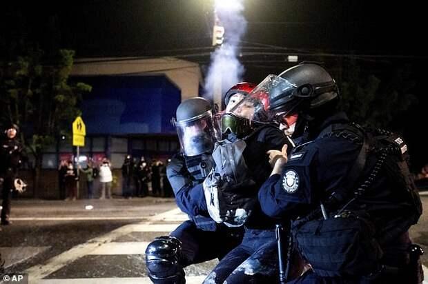 Лицо демократии в Портленде