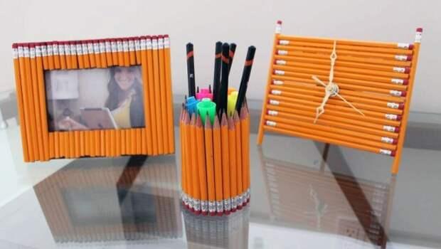 Стильные вещи из карандашей
