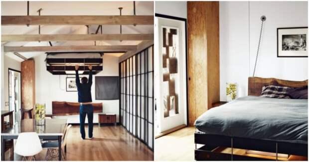 Умная система, которая сбережёт свободное пространство комнаты