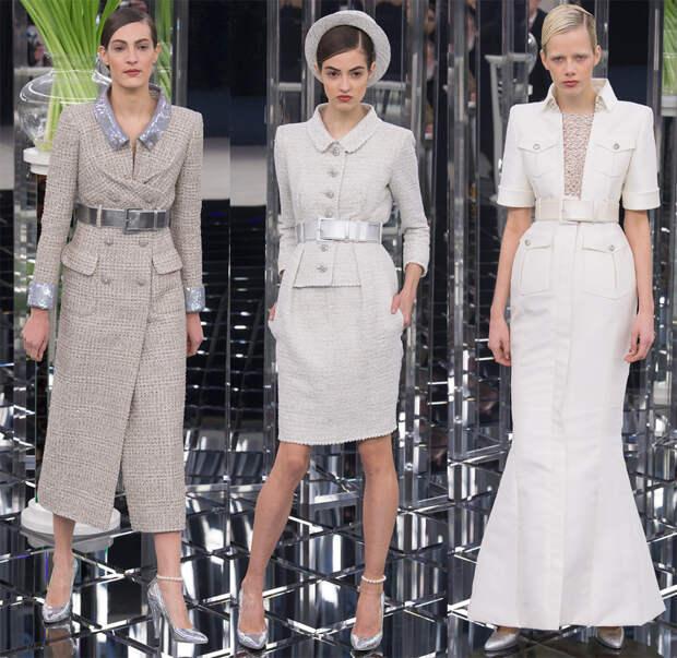 Модное платье-пальто Chanel