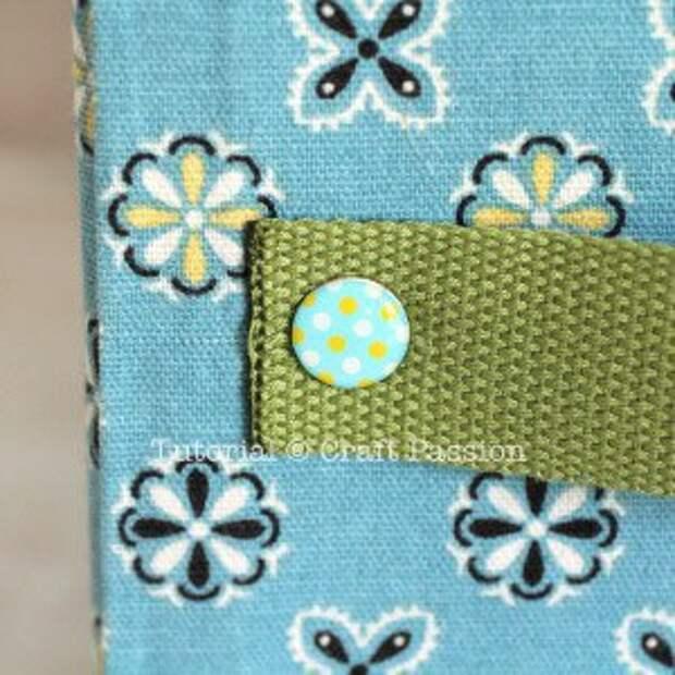 Комод с текстильными ящиками (Diy)