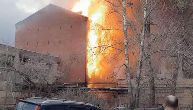 МЧС проверило в марте сгоревшую «Невскую мануфактуру»