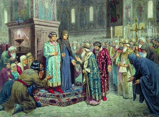 Призвание на царство Романовых — Михаил Федорович (Депутация от Земского собора)