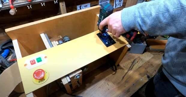 Фрезерный стол своими руками. Фрезер из двигателя от стиралки