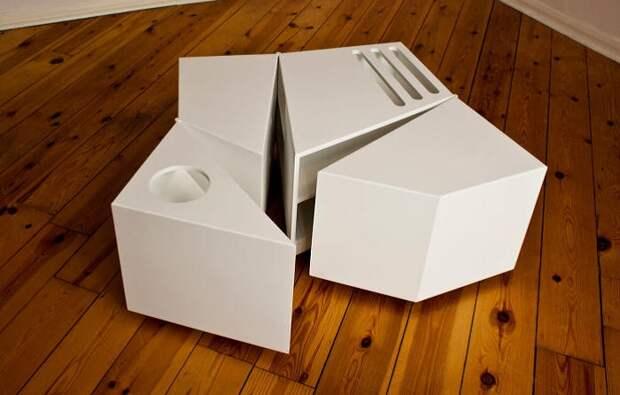 5 примеров мебели-трансформеров для увеличения свободного пространства в маленькой квартире