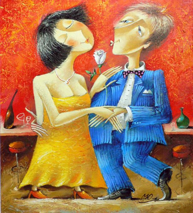 Потанцуем... Автор: Юрий Мацик.