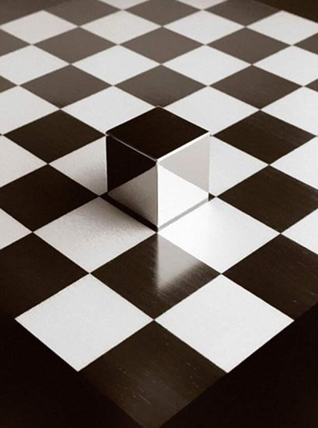 Чема Мандоз: черно-белые иллюзии