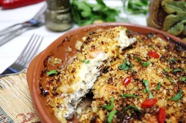Фото к рецепту: Рыба по-гречески