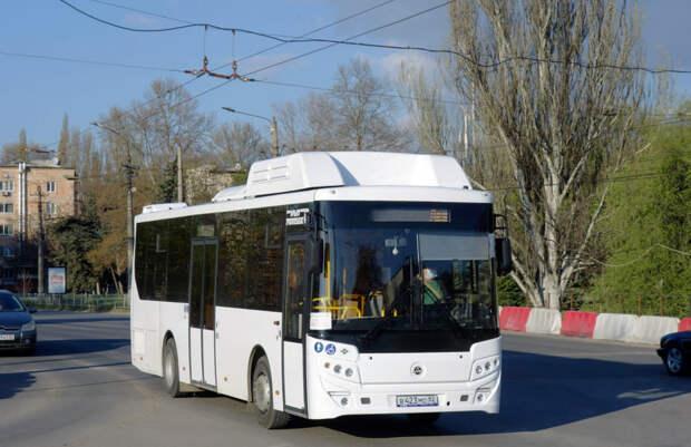 В Симферополе вышли 7 новых автобусов на маршрут №95