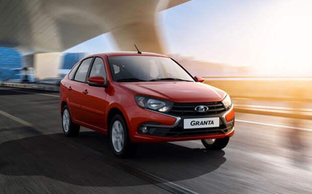 Granta отбивает покупателей у других моделей Lada