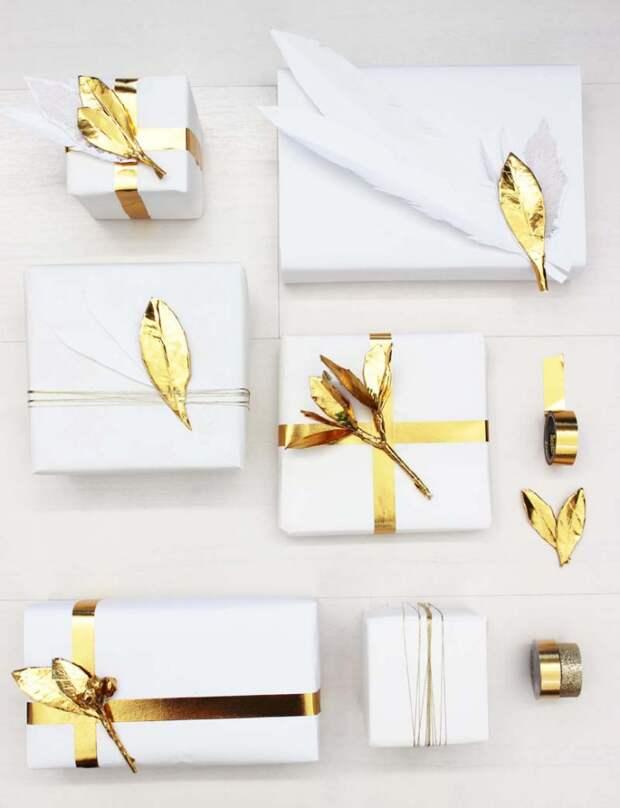 Очень красивая упаковка подарков DIY