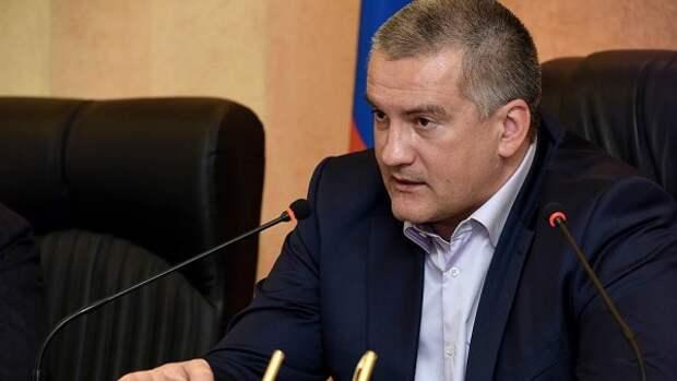 Аксенов возмущен повышением цен на бензин в Крыму