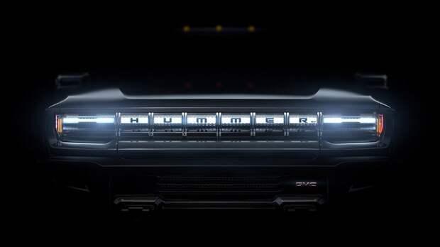 GMC продолжает подогревать интерес к пикапу Hummer: новый тизер и дата премьеры