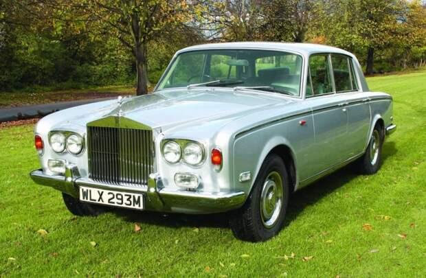 Rolls Royce Silver Shadow 1974 Queen, Фредди Меркьюри, авто, автомобили, знаменитость, певец, факты