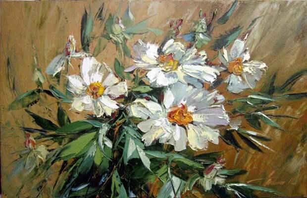 Цветы в творчестве художника Татьяны Тата