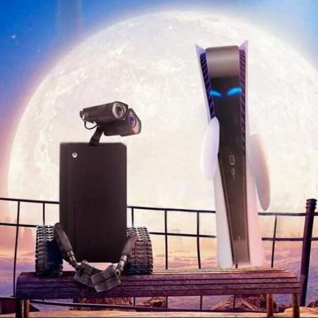 14 мемов о дизайне новой консоли PlayStation 5