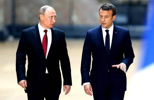 Конец НАТО и дружба с Россией: Макрон готовит «европейскую революцию»
