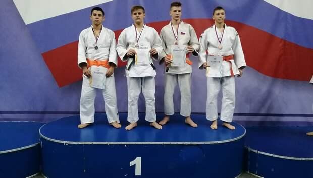 Подольчане завоевали две медали на первенстве по дзюдо «Славянское братство»