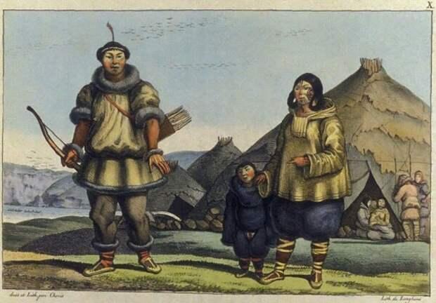 Йэкуннин - русский монстр из чукотских легенд