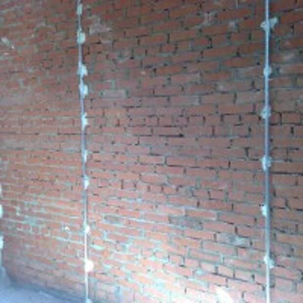 Установку маяков на стены