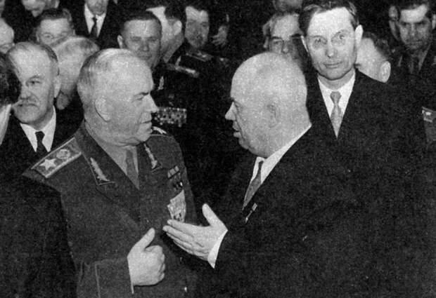 Почему Хрущёв боялся маршала Жукова