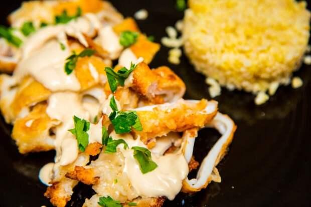 Морской гад кальмар или Рецепт простейший, но вкуснейший.