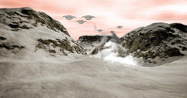 Крушение НЛО в американском Гранд-Каньоне 4000 лет назад