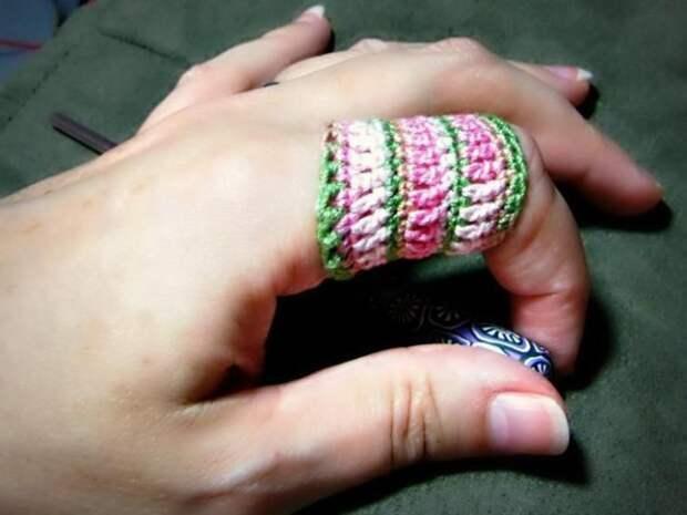 Напёрсток для вязания
